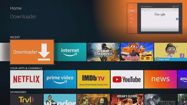 Fire TV Downloader App