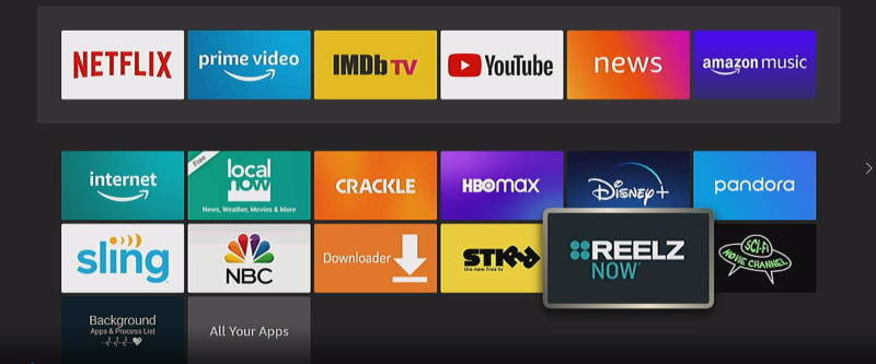 Apps on Fire TV